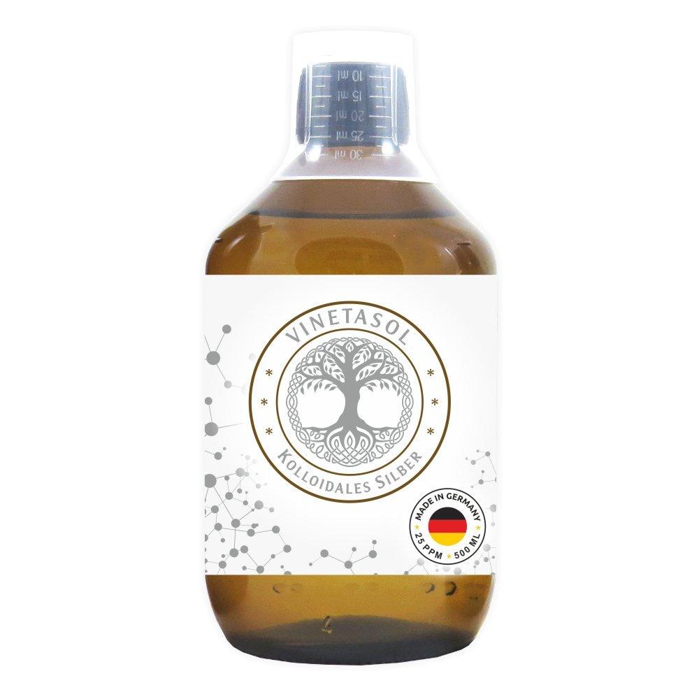 VINETASOL - Kolloidales Silber 25ppm / 500 ml