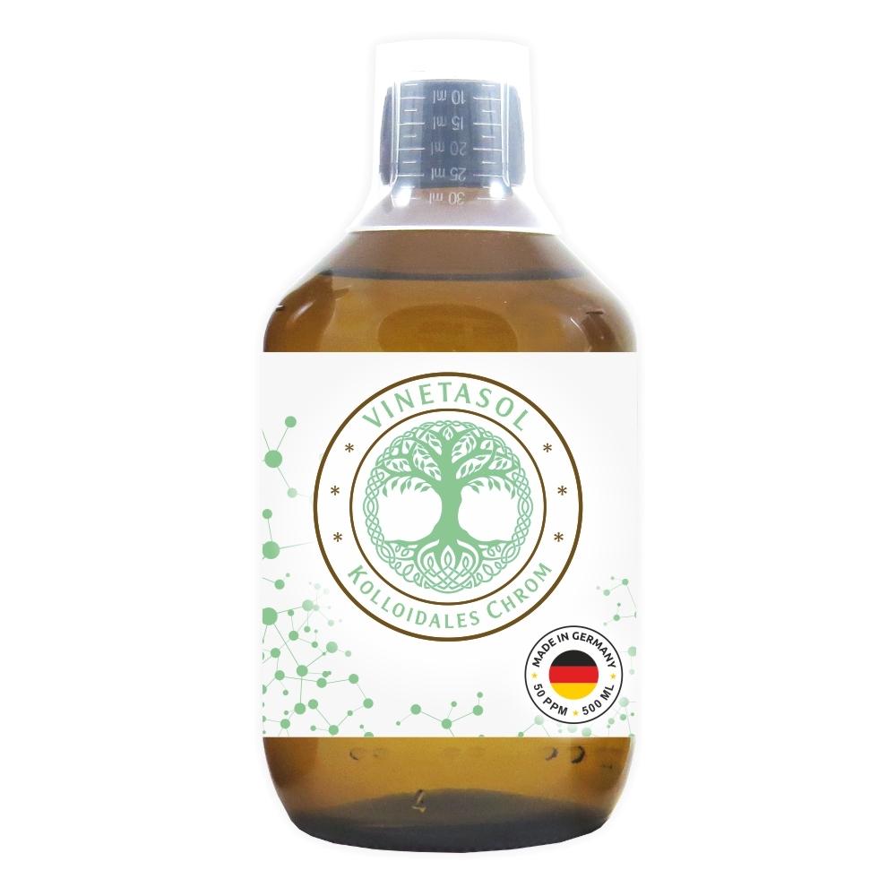 VINETASOL - Kolloidales Chrom 50 ppm / 500 ml