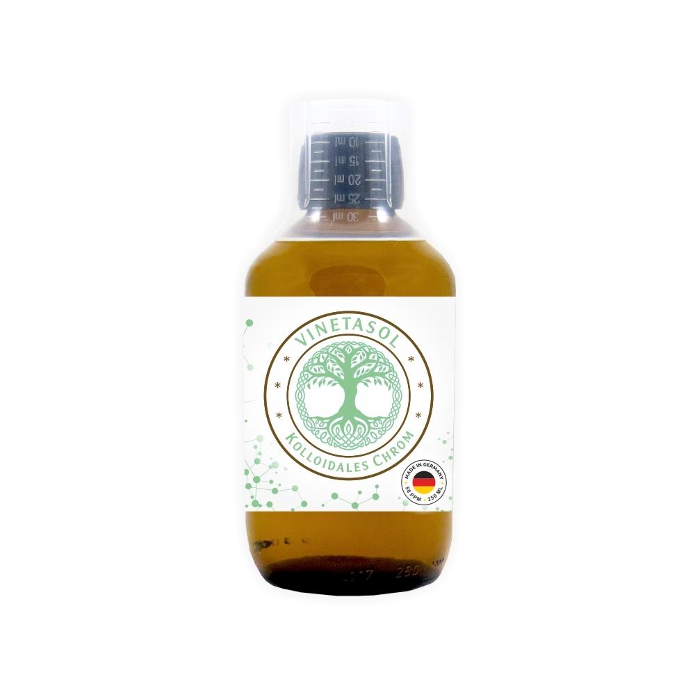 VINETASOL - Kolloidales Chrom 50 ppm / 250 ml