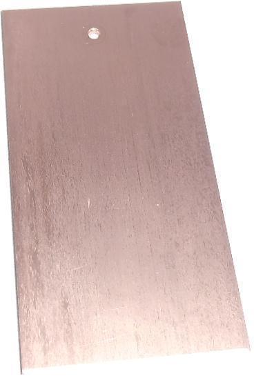 Elektroden Set Kupferplatten 50mmx100mmx2mm