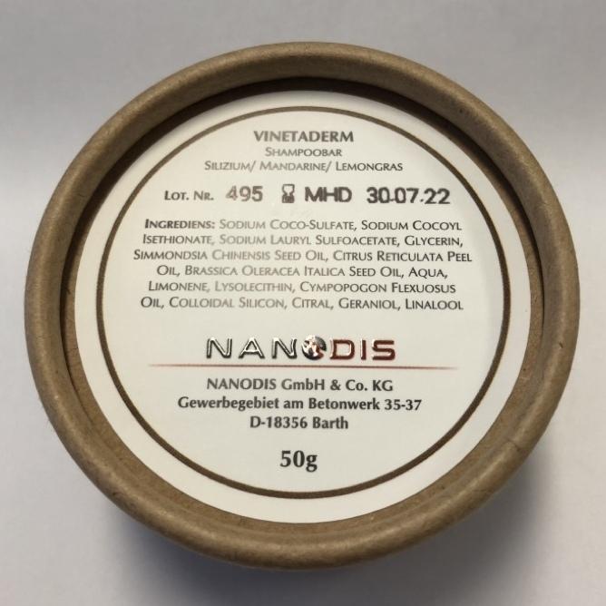 VINETADERM - Shampoobar mit Silizium