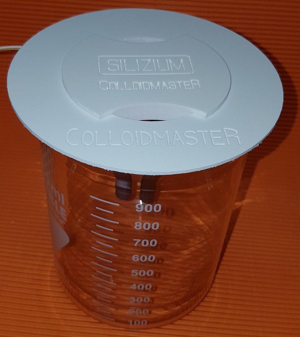 Adapterring 0,2 Liter für 1 Liter Becherglas