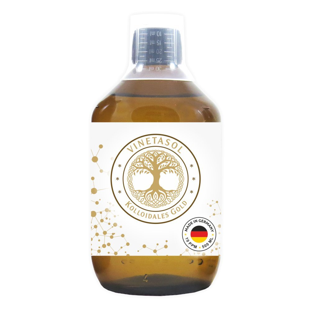 VINETASOL - Kolloidales Gold 10 ppm / 500 ml