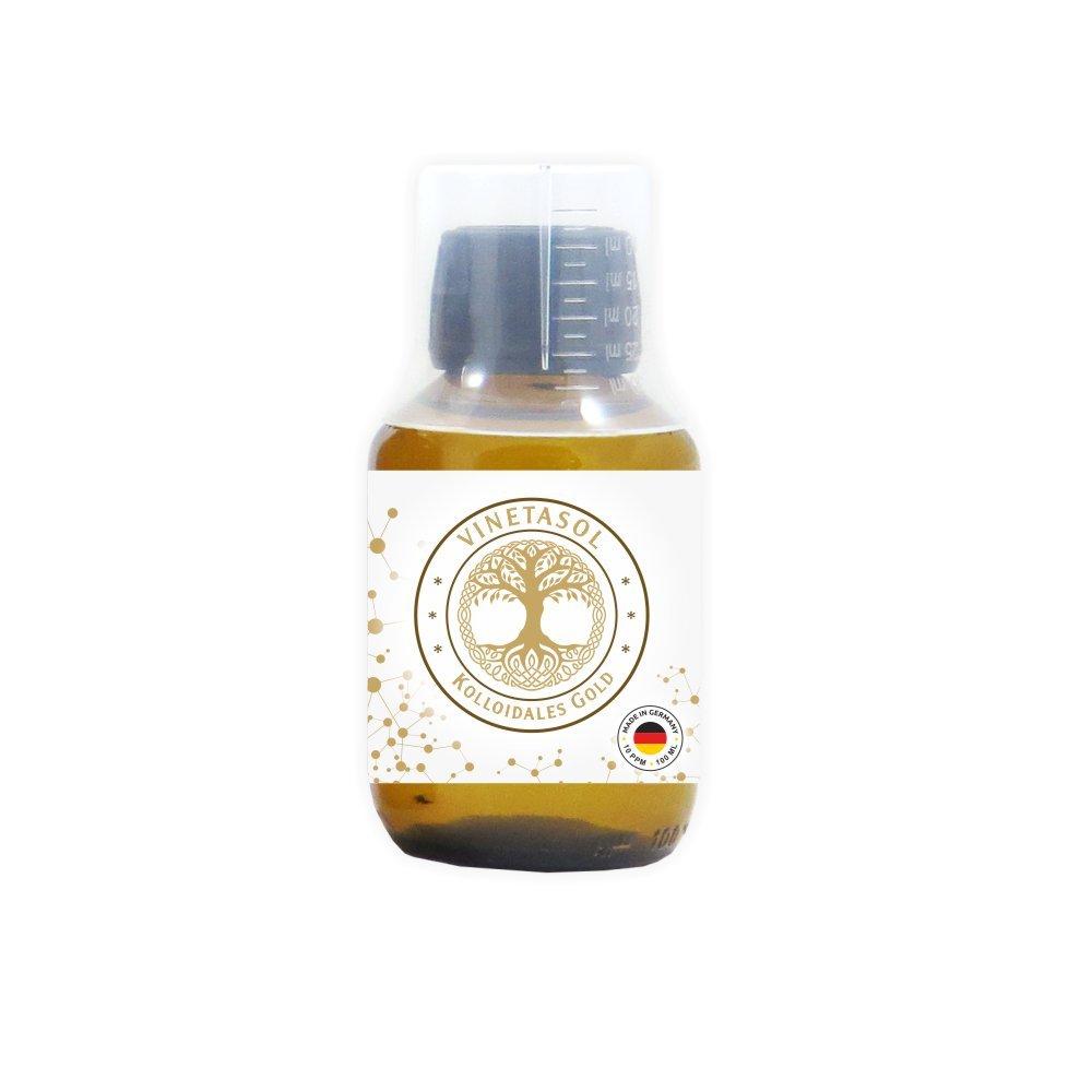 VINETASOL - Kolloidales Gold 10 ppm / 100 ml