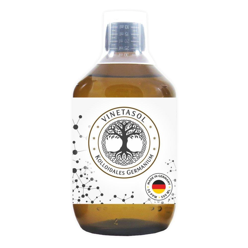 VINETASOL - Kolloidales Germanium 50 ppm / 500 ml