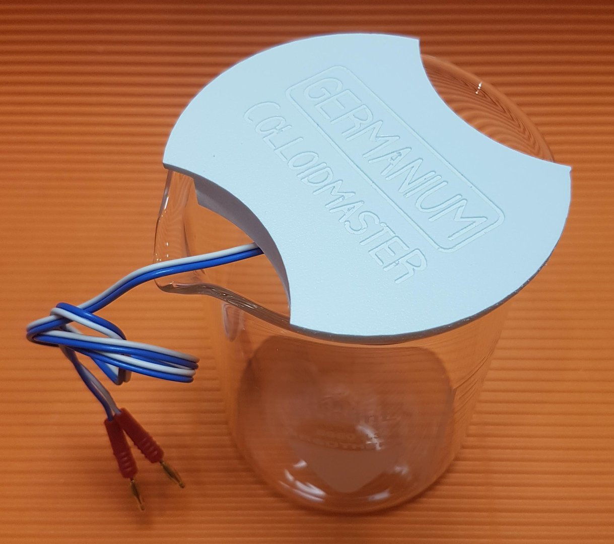 Elektroden Set Germanium, inkl. Becherglas