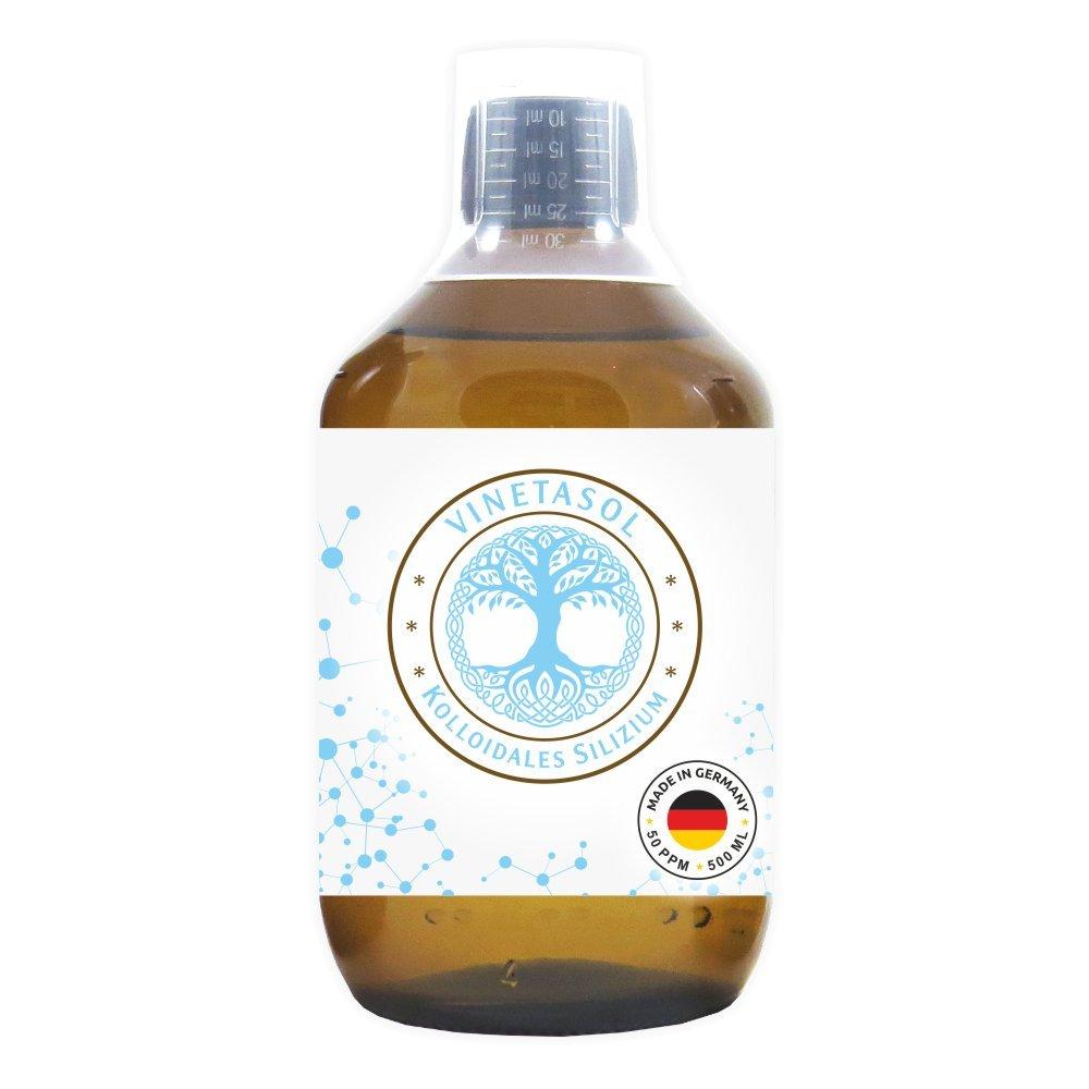 VINETASOL - Kolloidales Silizium 50 ppm / 500 ml