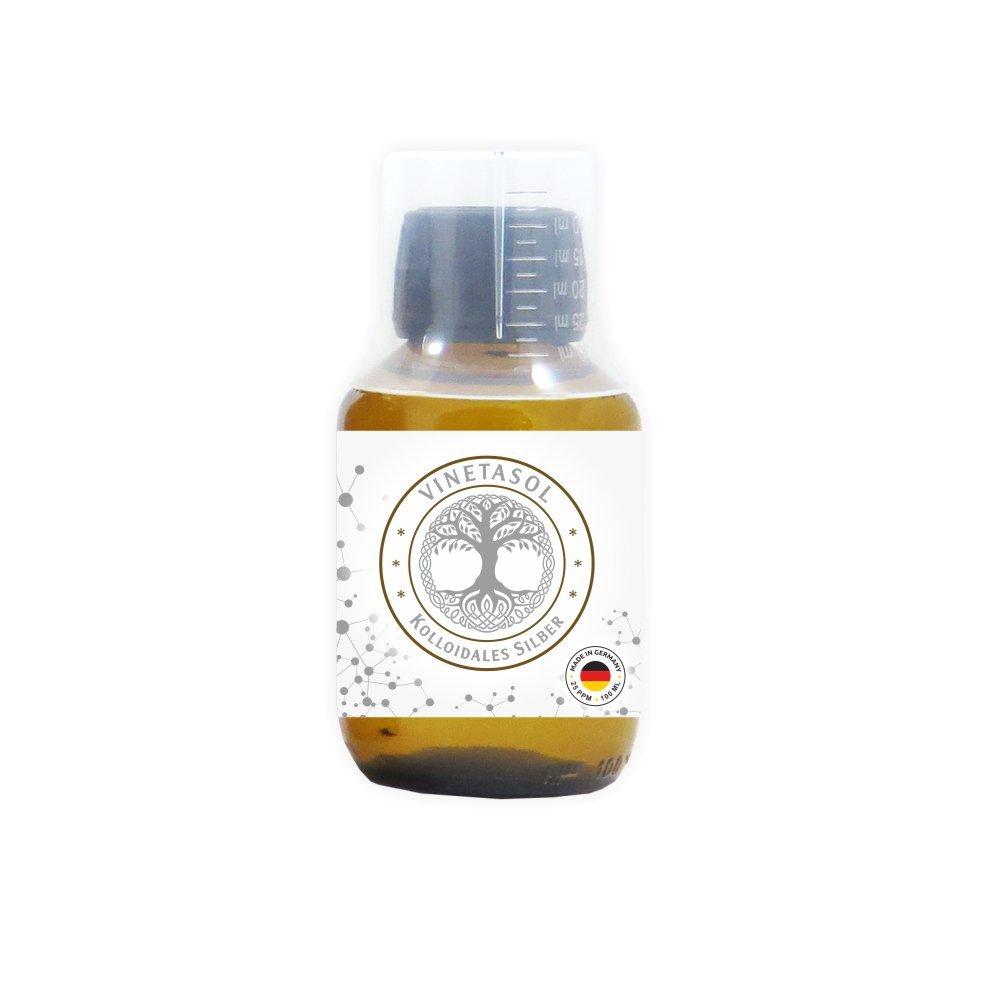 VINETASOL - Kolloidales Silber 25ppm / 100 ml