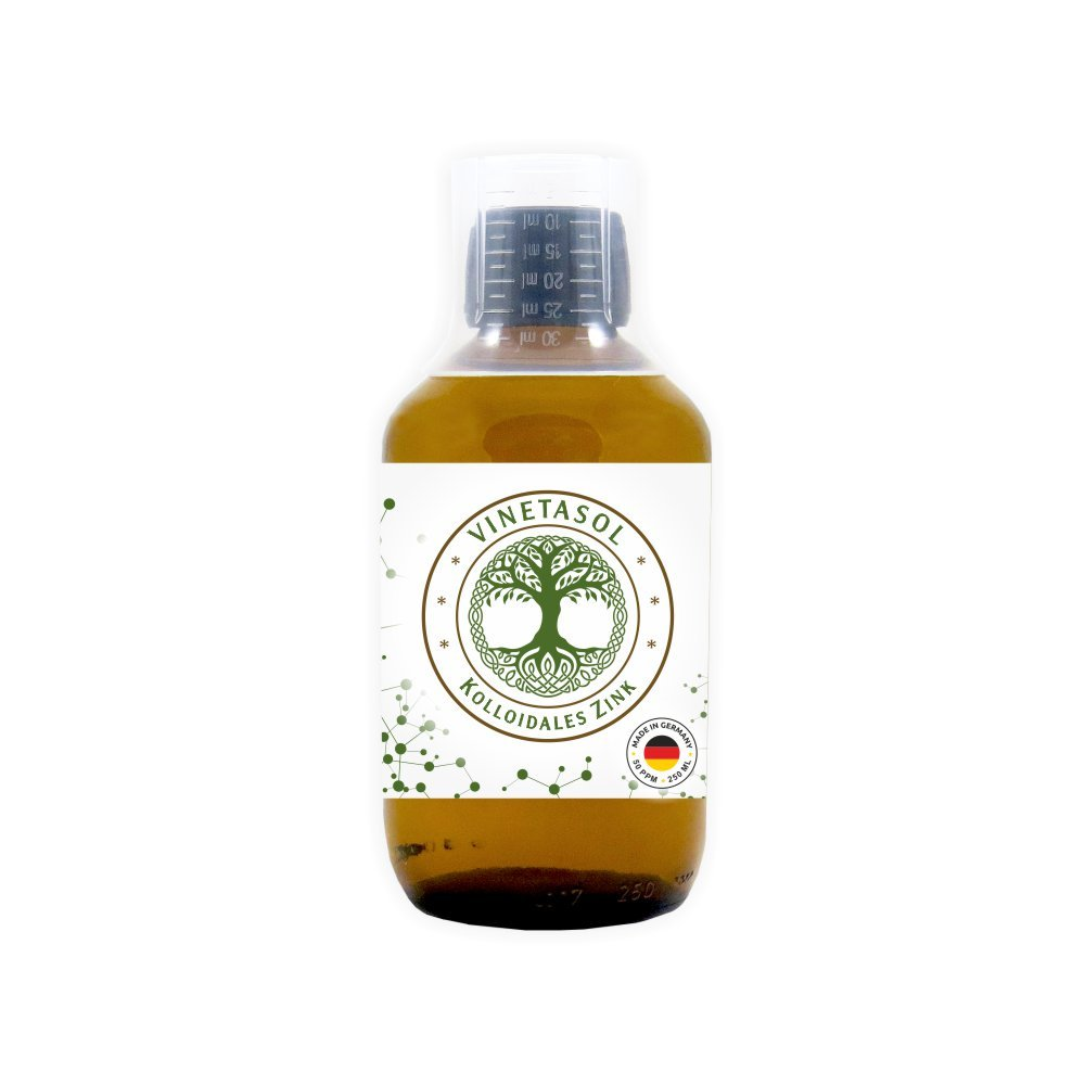 VINETASOL - Kolloidales Zink 40 ppm / 250 ml