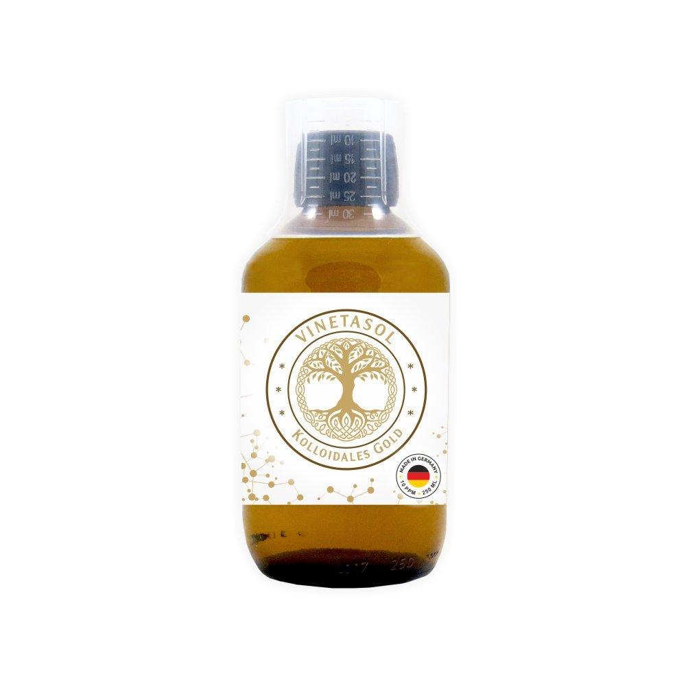 VINETASOL - Kolloidales Gold 10 ppm / 250 ml